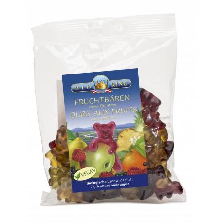 BIOKING Fruchtbären ohne Gelatine 150 g