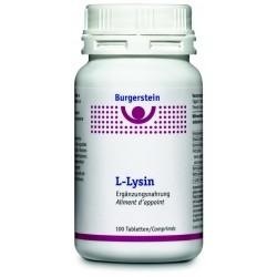 BURGERSTEIN L-Lysin Tabl Ds 100 Stk