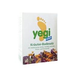 YEGI RELAX Kräuter Fussbadesalz 4 Btl 50 g