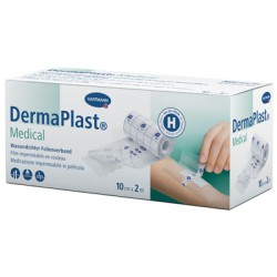 DERMAPLAST Medical Fixierfolie 10cmx2m