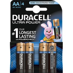 DURACELL Batt Ultra Power MN1500 AA 1.5V 4 Stk