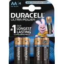 DURACELL Batt Ultra Power MN1500 AA 1.5V 4 Stk