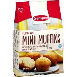 SEMPER Mini Muffins Zitrone glutenfrei 185 g