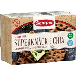 SEMPER Superknäcke Chia glutenfrei 140 g