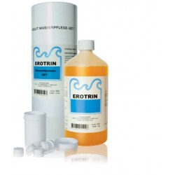 EROTRIN Planschbecken Set Antialgen/Chlor 1.2 kg