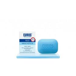 EUBOS Seife fest unparf blau 125 g