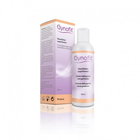 GYNOFIT Waschlotion unparfumiert 200 ml