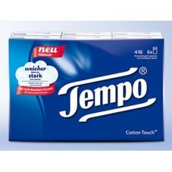 TEMPO Standard Taschentücher  6 x 10 Stk