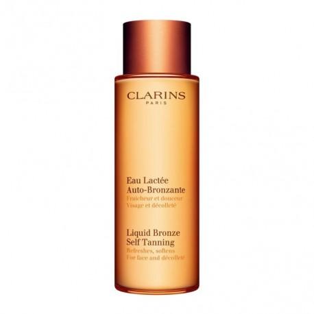 CLARINS SOLAIRE EAU LACTEE AUTO BRONZANTE 125 ml