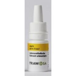TRAWOSA Lebensmittelfarbstoff eigelb 10 ml
