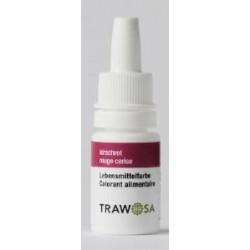 TRAWOSA Lebensmittelfarbstoff kirschrot 10 ml