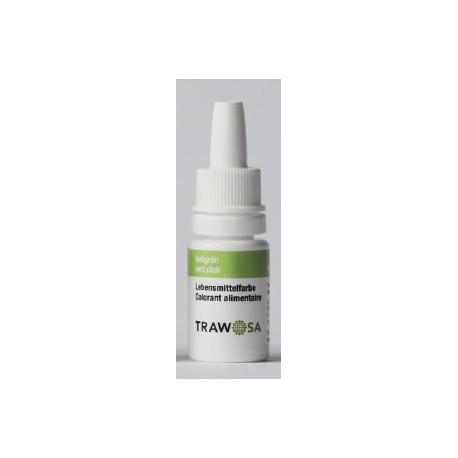 TRAWOSA Lebensmittelfarbstoff hellgrün 10 ml