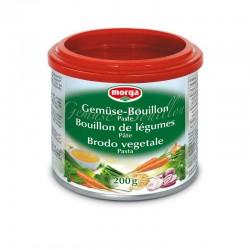 MORGA Gemüse Bouillon Paste Ds 200 g