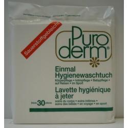 PURODERM Einmal Hygienewaschtücher 30 Stk