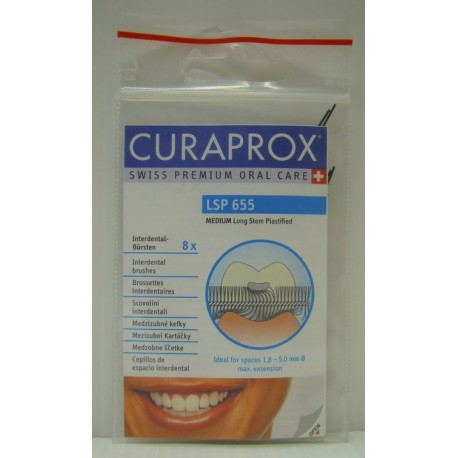 CURAPROX LSP 655 Bürste medium 8 Stk