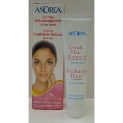 ANDREA VISAGE CLAIR Enthaarungscreme Gesicht 56 g
