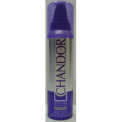 CHANDOR COLOUR Styling Mousse Dunkelgrau 150 ml