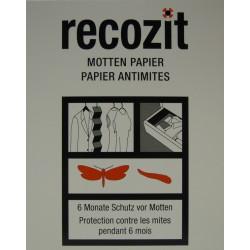 RECOZIT Mottenpapier 2 x 5 Stk