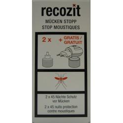 RECOZIT Mücken Stopp Stecker mit Flüssigkeit
