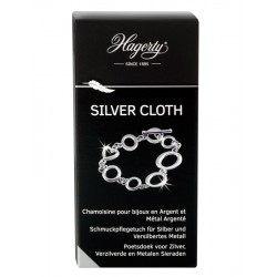 HAGERTY Silver Cloth 30x36cm