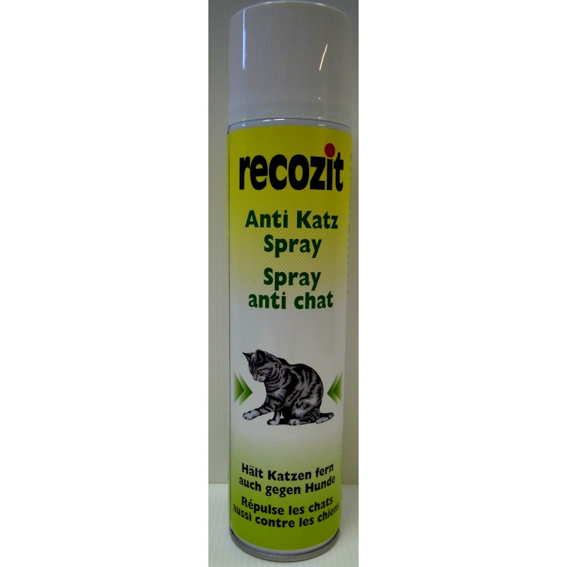 recozit anti katzen spray 400 ml online kaufen insektenbek mpfung. Black Bedroom Furniture Sets. Home Design Ideas