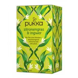 PUKKA Zitronengras&Ingwer Tee Bio Btl 20 Stk