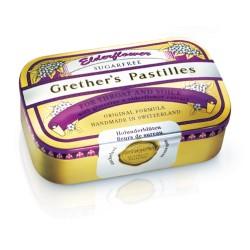 GRETHERS Elderflower Past ohne Zucker Ds 110 g