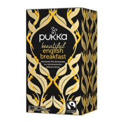 PUKKA Beautiful Engl Breakf Tee Bio Fai Btl 20 Stk