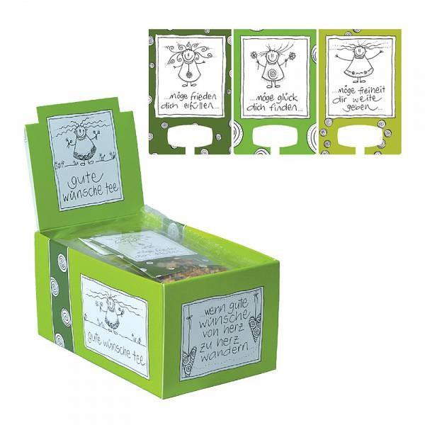 herboristeria teebeutel gute w nsche tee 12 stk online kaufen t. Black Bedroom Furniture Sets. Home Design Ideas