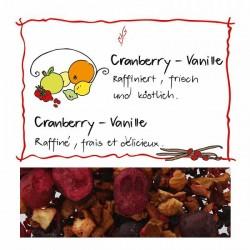 HERBORISTERIA Cranberry-Vanille Früchtetee im Sack
