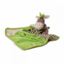 HERBORISTERIA Kuscheltuch Esel