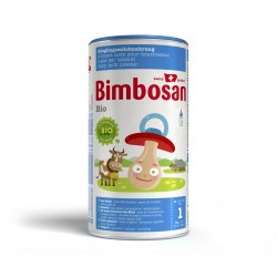 BIMBOSAN Bio Säuglingsmilch ohne Palmöl Ds 400 g