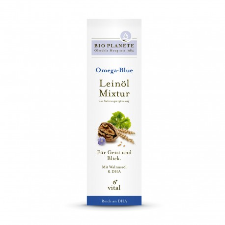 BIO PLANETE Omega Blue Leinöl-Mixtur Fl 100 ml