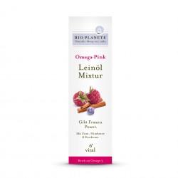 BIO PLANETE Omega Pink Leinöl-Mixtur 100 ml