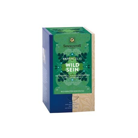 SONNENTOR Happiness is Wild sein Tee Btl 18 Stk