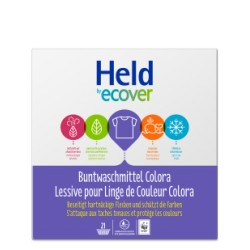 HELD BY ECOVER Buntwaschmittel Colora 40WL 3 kg