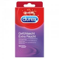 DUREX Gefühlsecht Präservativ extra feucht 10 Stk