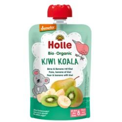 HOLLE Pouchy Birne Banane mit Kiwi 90 g