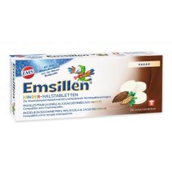 EMSILLEN Kinder-Halstabletten mit Kakao 20 Stk
