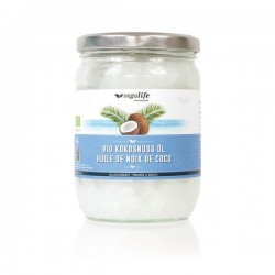 VEGALIFE Kokosnuss Öl (neu) Glas 500 ml