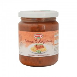MORGA Sauce Bolognaise mit Soja Bio Glas 250 g