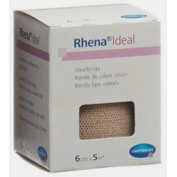 RHENA Ideal Elastische Binde 6cmx5m hautf