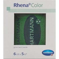 RHENA Color Elastische Binden 6cmx5m grn