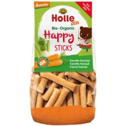 HOLLE Happy Sticks Karotte Fenchel Btl 100 g