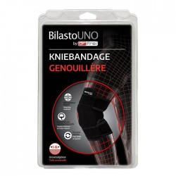 BILASTO Uno Kniebandage S-XL mit Velcro