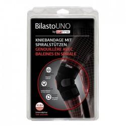 BILASTO Uno Kniebandage S-XL Spiralstützen Velcro