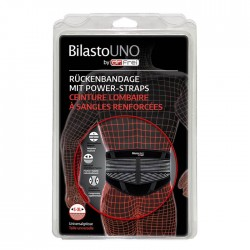 BILASTO Uno Rckenbandage S-XL mit Power Straps