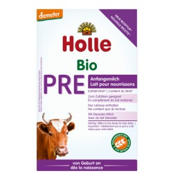 HOLLE Bio-Anfangsmilch PRE Plv 400 g