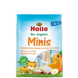 HOLLE Bio-Minis Banane Orange 100 g