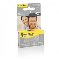 OHROPAX Silicon Clear Ohrstöpsel 6 Stk